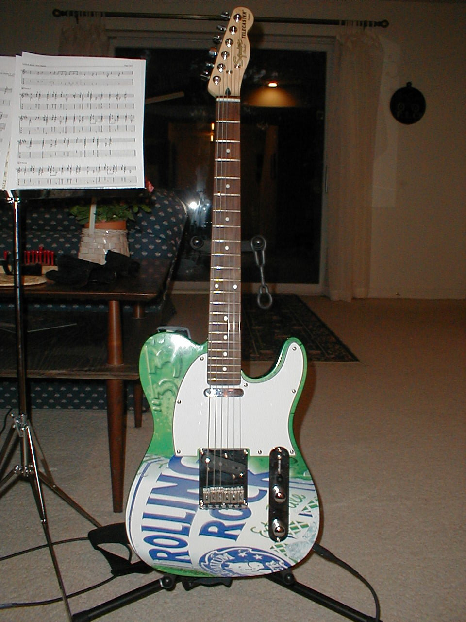 Picture of Rolling Rock Telecaster