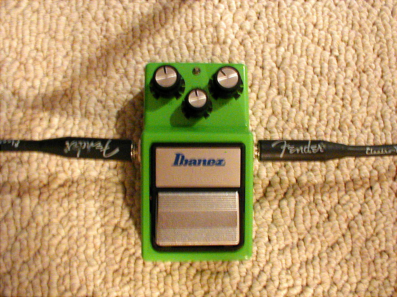Pciture of TS-9 tube screamer